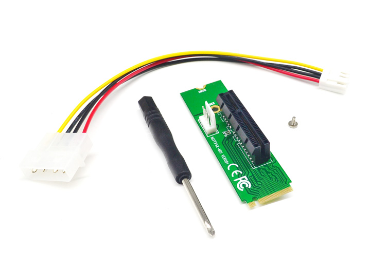 NGFF M2 to PCI-E 4X Slot Adapter Card M key M.2 port SSD Port to PCI Express Expansion Card
