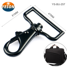 Bag Hardware Accessories Strong Black Zinc Alloy Snap Hook