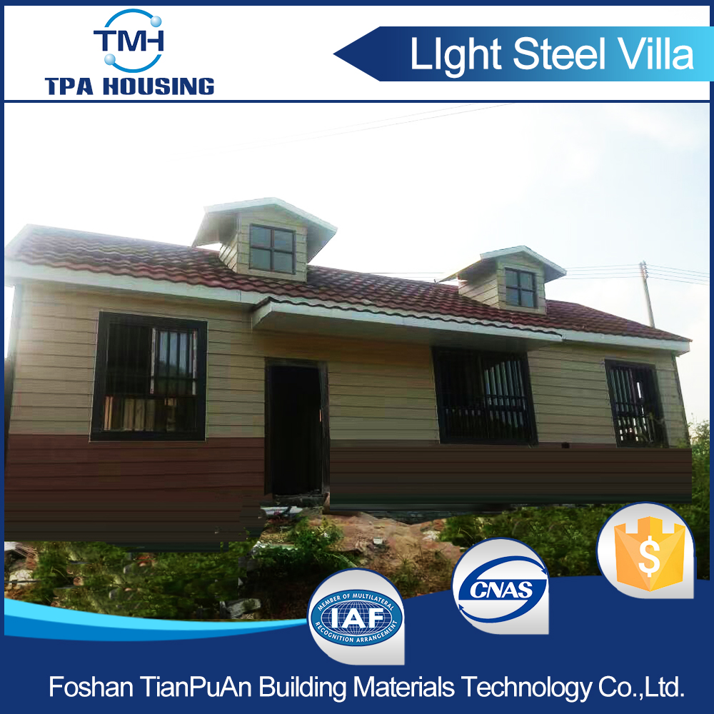 OEM/ODM Sandwich Panel Prefabricated Container House Villa