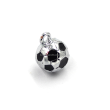Factory Direct Supplies Sports Theme Jewelry World Cup Football Charms Soccer Pendant Charm Wholesale