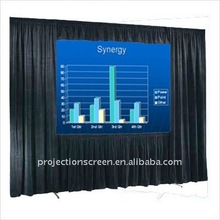 150inch Quick fold projection screen with Drape Kit