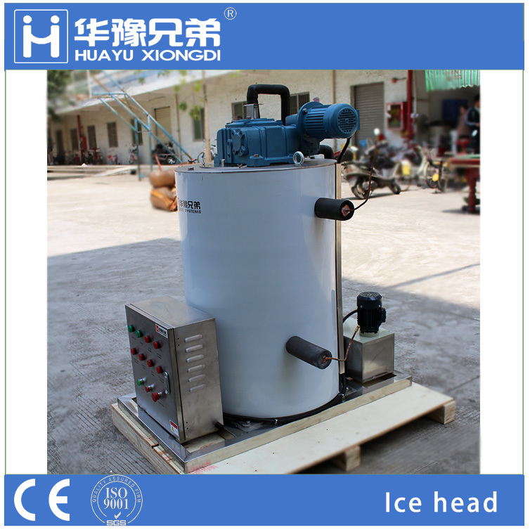 ice making machine industrial scale stainless steel freezing surface