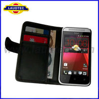 Wallet Leather Case for HTC Desire 200, New Case For HTC Desire 200, Made in China Laudtec