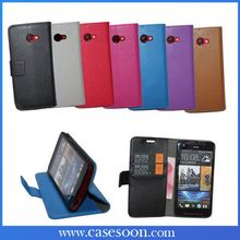 NEWEST Lychee Leather Case for htc Butterfly s With Stand,For htc butterfly s wallet case