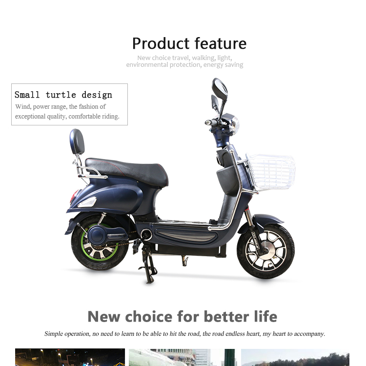 electric motorcycle scooter with CE certification