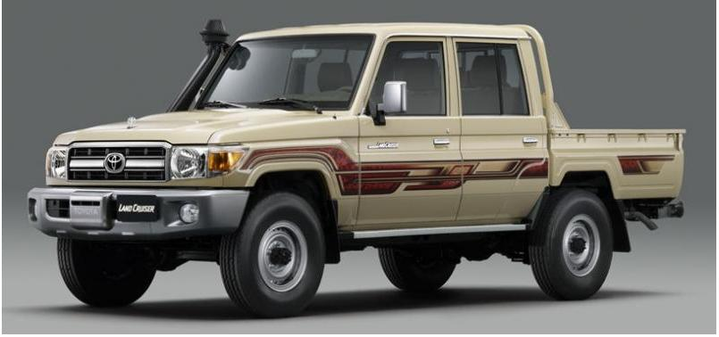LANDCRUISER DOUBLE CABIN PICKUP