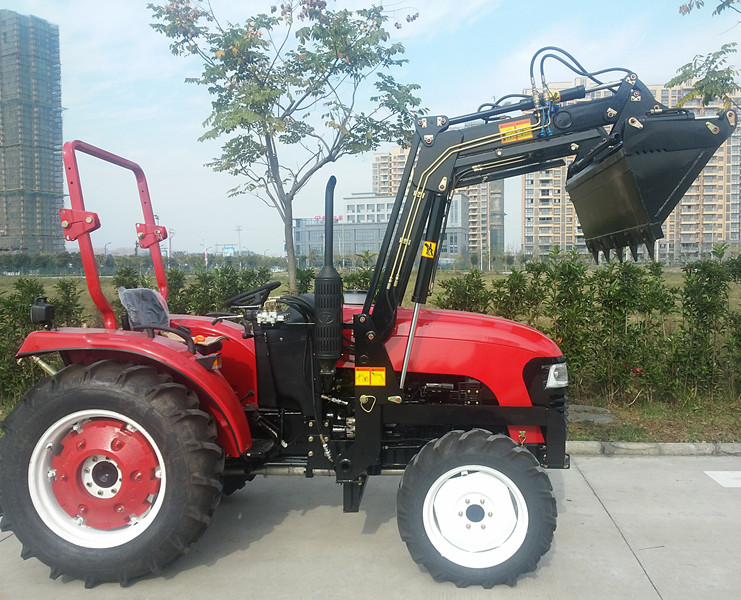 50hp Jinma 504 tractor with front end loader