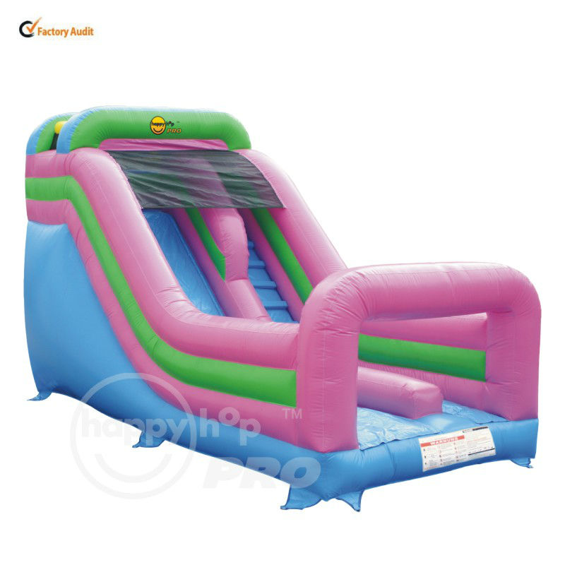 Happy hop Pro Commercial Inflatable Super Slide and Climb Combo-1003