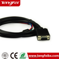 Tengfei High speed rs232 vga cable to rca with RCA cable