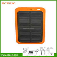 Factory price solar panel 5V portable mobile solar power bank 5000 mah for mobile phone charging
