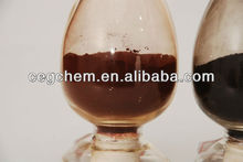 Excellent absorption capacity to uv radiation transparent iron oxide pigment