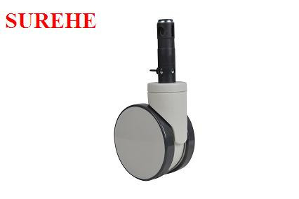 6inch plastic swivel casters
