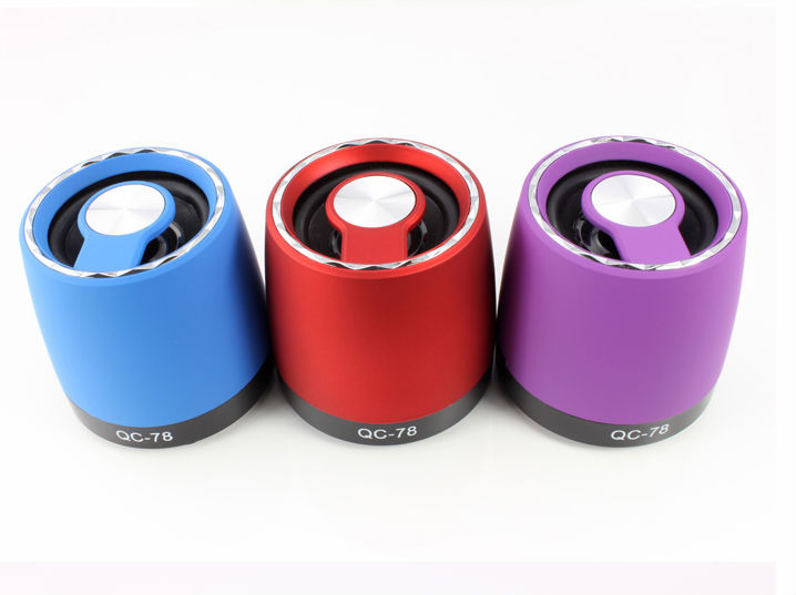 latest craze for promotional gifts colorful usb speaker