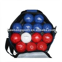 Top cow leather Outdoor sports sets team sports Boccia Bocce,Boules,Toss Game
