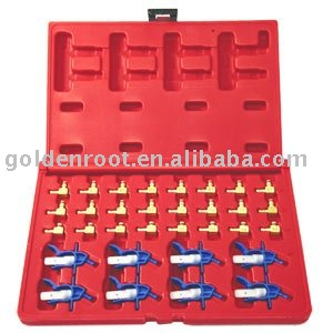 32pcs Set for Flow Meter Common Rail (Quick Replace)~Measurement of return flow of the injector, Auto Repair, Automotive Tools