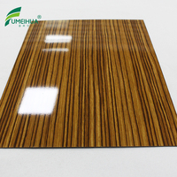 0.6 mm glossy wood grain high pressure compact laminate for sale