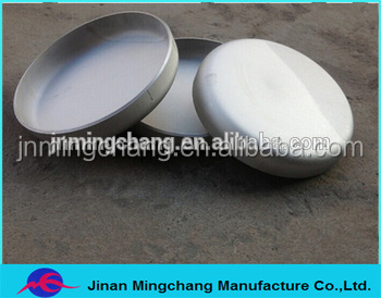Flat head Pipe cap pressure container according to customer demand production