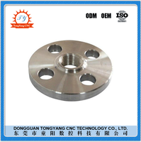 CNC machining service stainless steel flang shenzhen cnc lathe factory