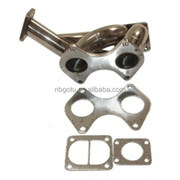 Stainless Steel Turbo Exhaust Manifold For 93-96 Mazda RX7 RX-7 FD3S 13B T04B T4