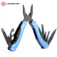 Stainless steel anodized aluminium female multi tool Black finished tool