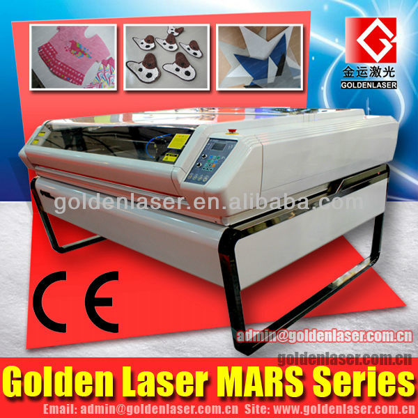 CO2 Laser Garment Cloth Textile Embroidery Appliques Fabric Laser Cutting Machine Price(Smart Nesting)