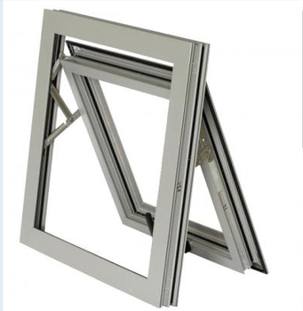 Australia standard As2047 As1288 As2208 certified Anti Noise aluminum awning Window
