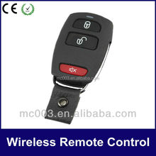 Hot sale Metal cover style with keyfob waterproof wireless copy code remote controller