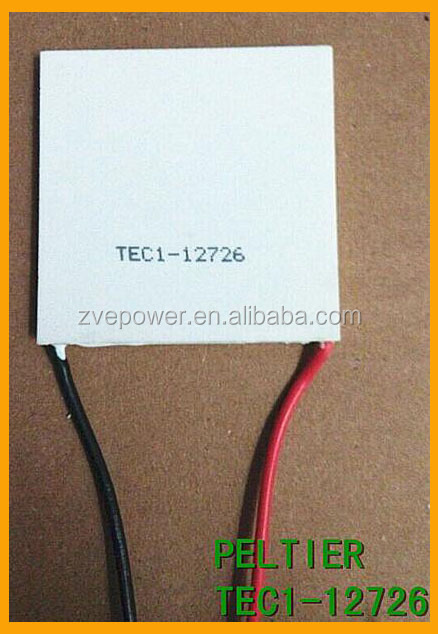 TEC1 - 12726 26A 12V 236W 50 * 50*3.3MM Thermoelectric Cooler Peltier Plate element