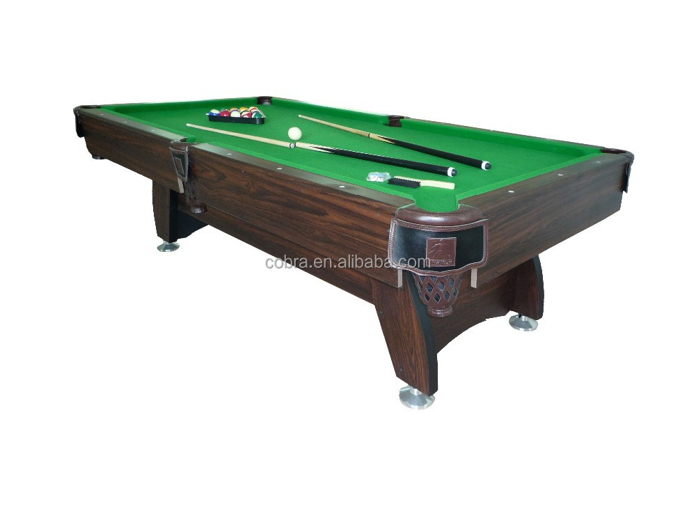 International standard size cheap pool table buy pool table indoor billiards table mdf poll - What is the size of a standard pool table ...