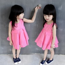 Wholesale Fancy Model Child Clothes Frock Evening Party Designs Girls Dresses