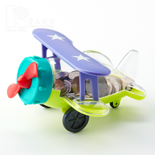 Kwang Hsieh Hot Sell Custom Airplane Box Plastic Money Bank
