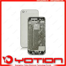 China factory price for iphone 5 back cover housing with mid frame
