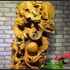Wooden Carving Crafts Dragons Natural Root