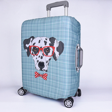 Wholesale Plastic Spandex Protector Luggage Suitcase Cover for Flight