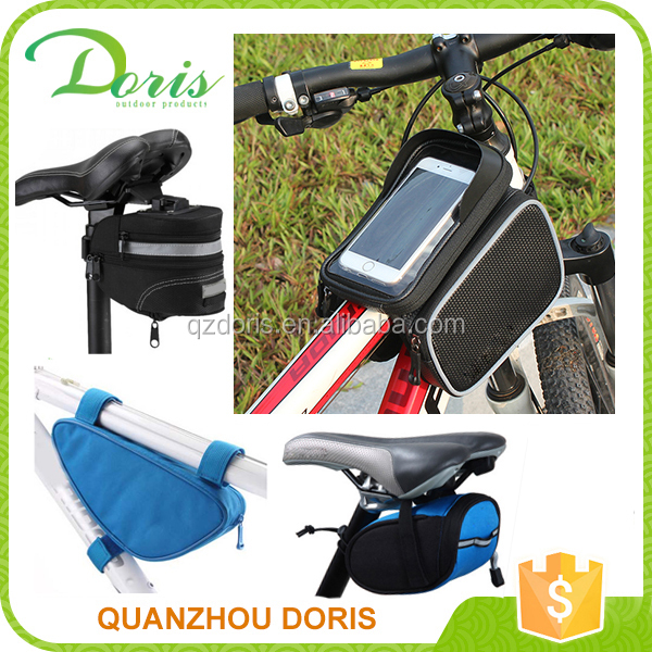Waterproof mobile carry front tube bike bag