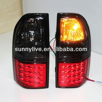 1998-2003 year Prado FJ90 LED Tail Lamp Red Black Color V1 Type