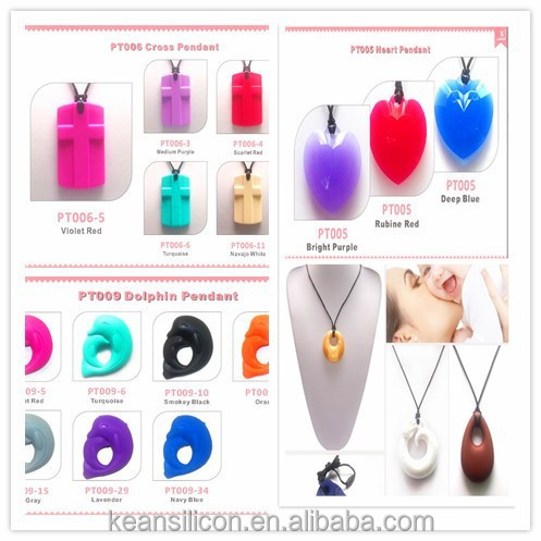 meaningful chain cross pendant silicone necklace/Meaningful silicone pendant necklace