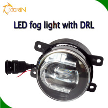 High quality car fog light 12v 3.5 inch 3600lm auto led fog lamp white and blue auto led daytime running light 3w 15w 6000k