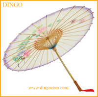 Chinese paper Parasol top design garden parasol sun umbrella