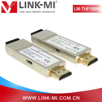 LINK-MI LM-THF106M HDMI Over Fiber Optic Transceiver Video Sender and Receiver
