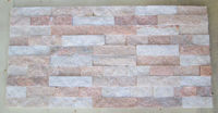 natural pink marble stone tile decorative stone for wall