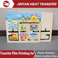 2015 Hot Sale heat transfer pet film for wood