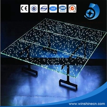 4mm~20mm discount laminated led glass for curtain wall