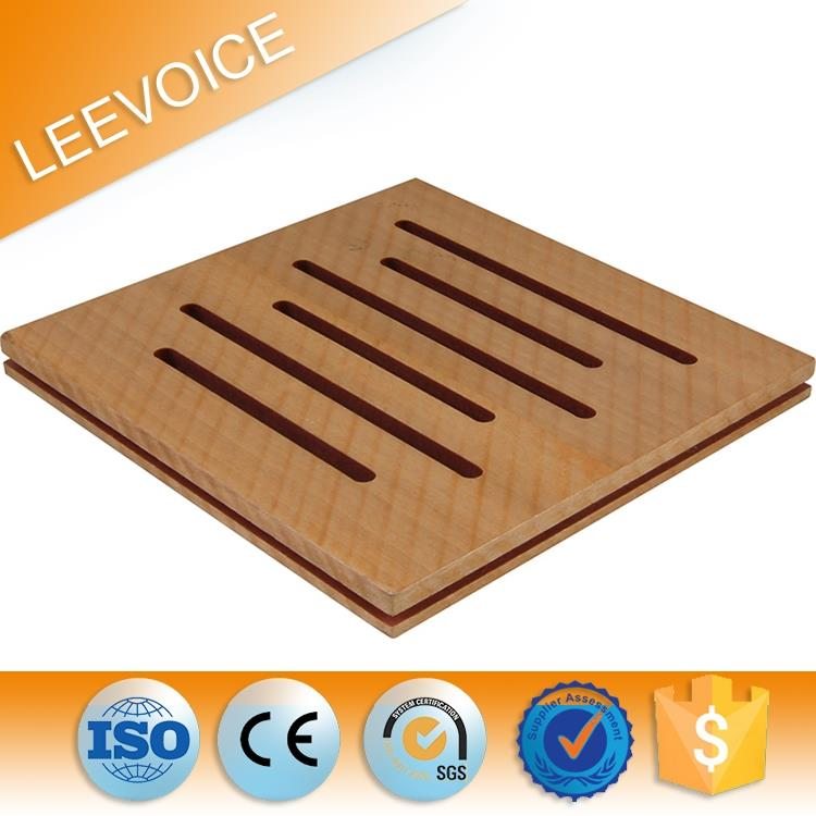 sound absorption mdf v groove panel