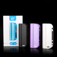 2016 China ECT 2200mah 5W-50W ET50 mini vaporizer box mod e cig best battery with 510 thread electronic cigarette
