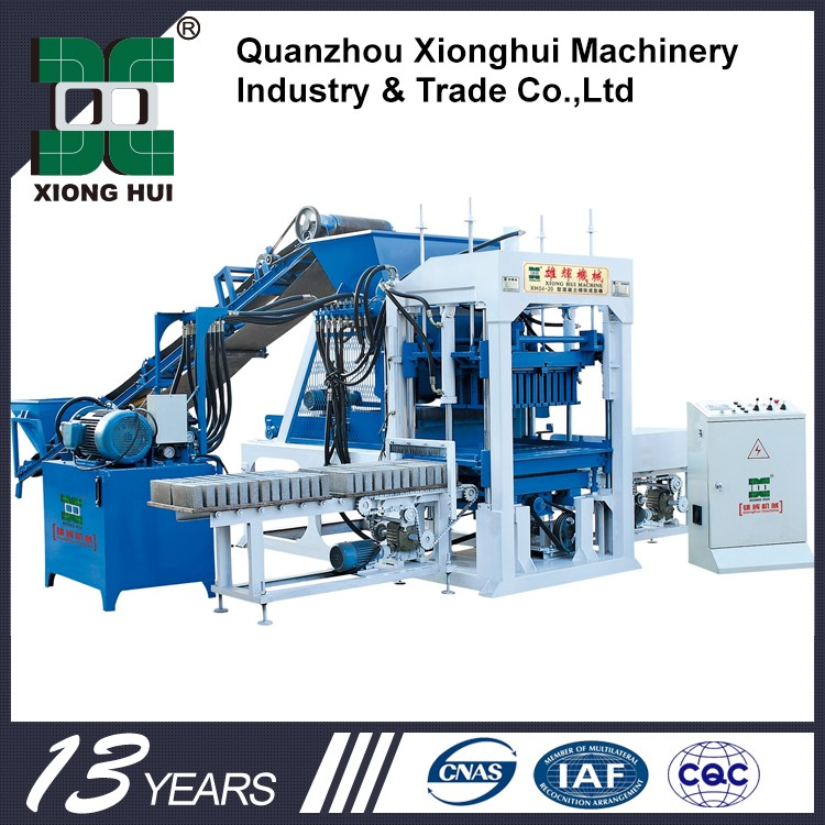 XH03-20 Footwear Manufacturing Machine Price In India Brick Block Machine