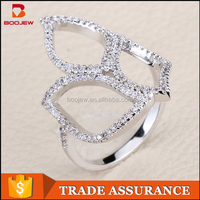 Walmart engagement rings silver jewelry gold plated new design finger ring for gifts