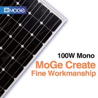 China land the lowest price solar energy panel monno 100w sale in pakistan