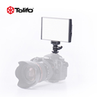 Tolifo New Arrival 15W Bicolor Portable Handheld LED Photo Light Studio Lighting on DSLR Camera and Camcorder for Youtube Video