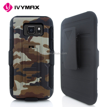 China suppliers robot cell phone accessories customized rubber printing case cover for samsung s7 active G891
